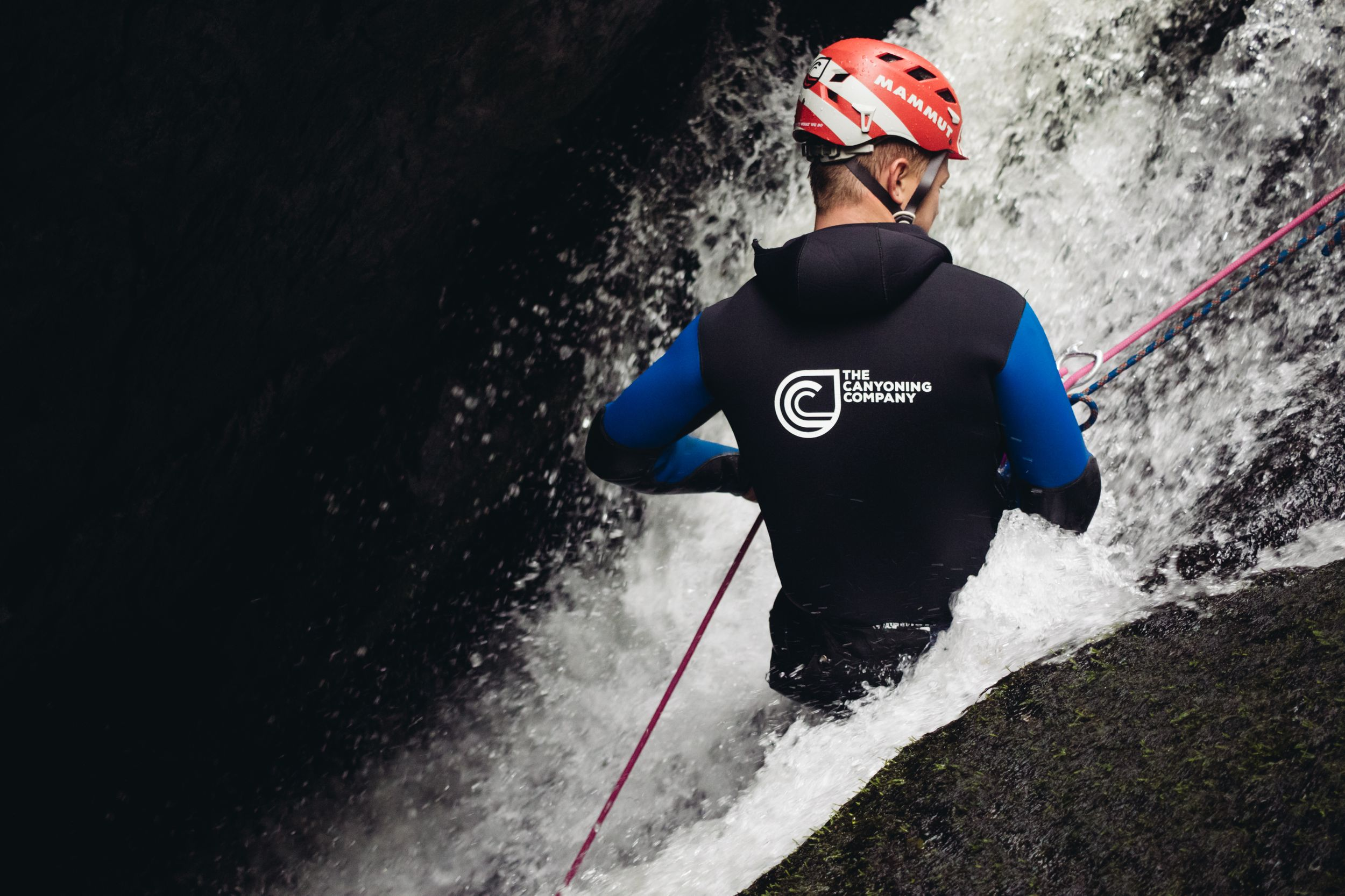 adventure photography canyoning scotland