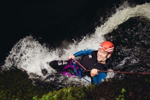 adventure photographer scotland canyoning