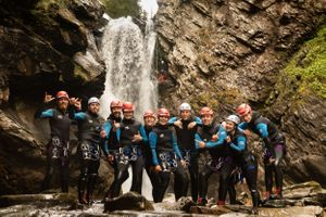 The Adventure Photographers The Canyoning Company Bruar