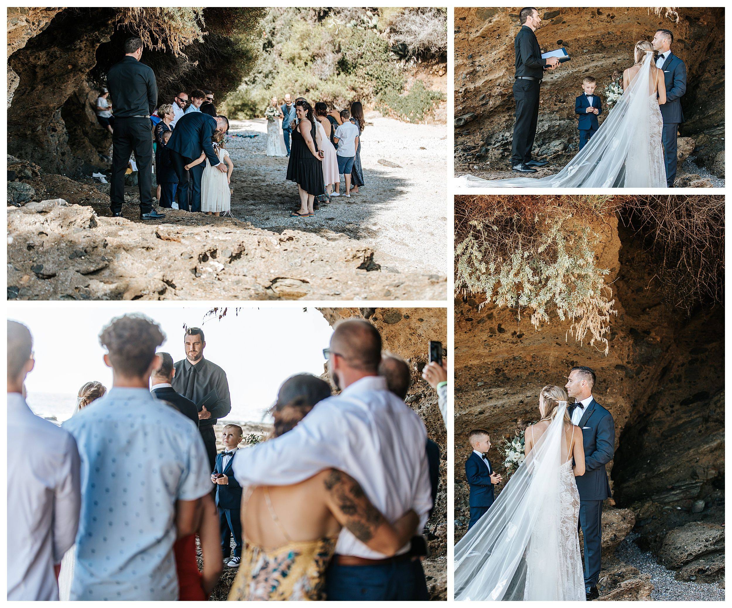 beach wedding ceremony, beach elopement ceremony, beach wedding inspiration