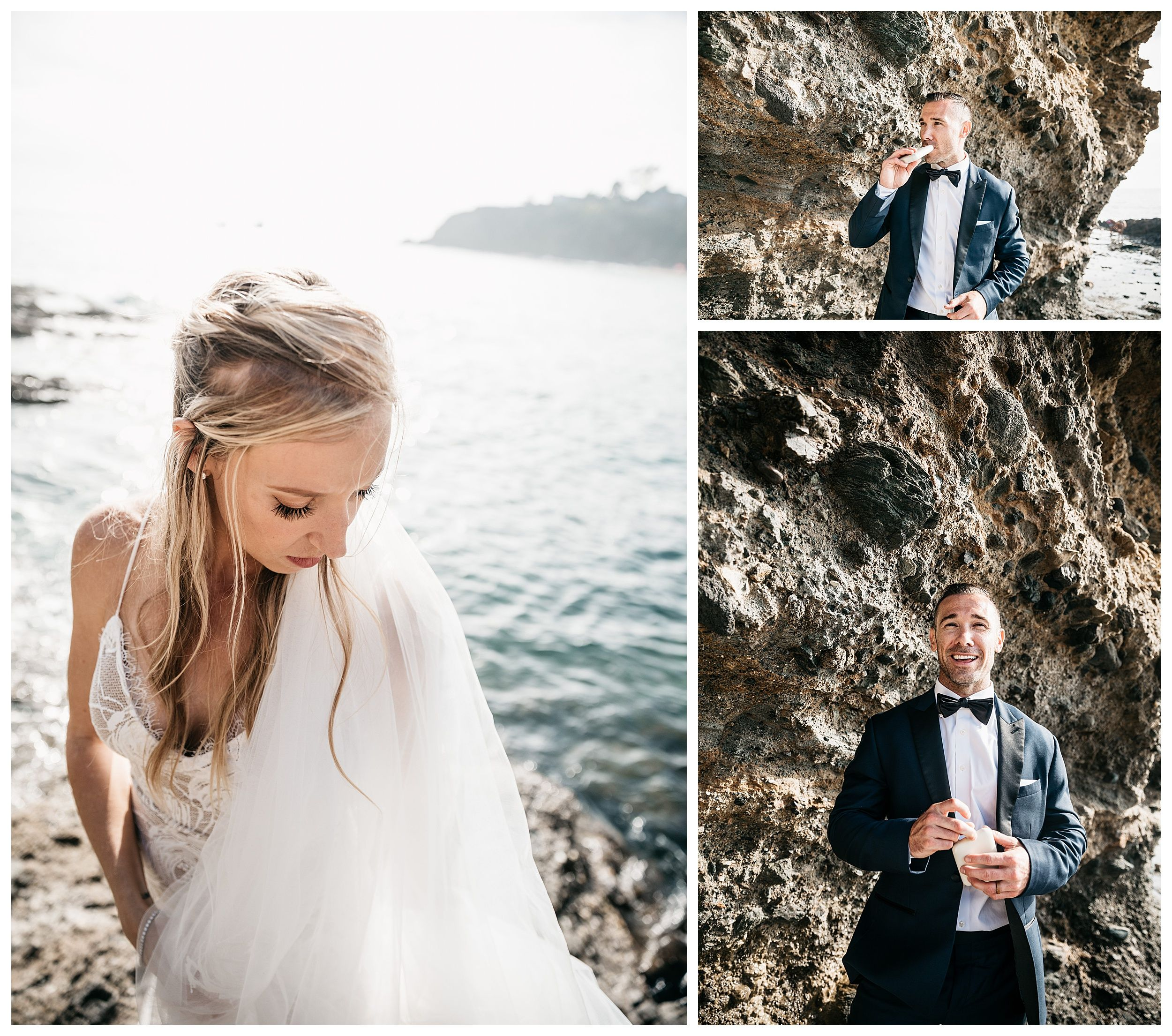 beach bridal photos, bridal photos on the beach, bride and groom portraits