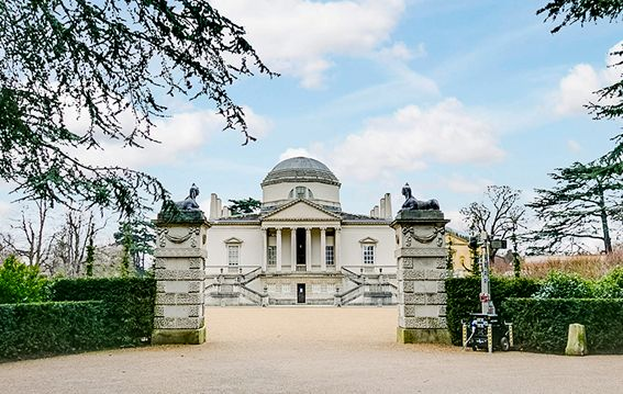 Chiswick House London is on Faye Amare's wedding venue bucket list