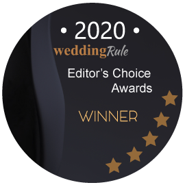 2020 WeddingRule Editor's Choice Awards Winner for Shutter Photography & Film