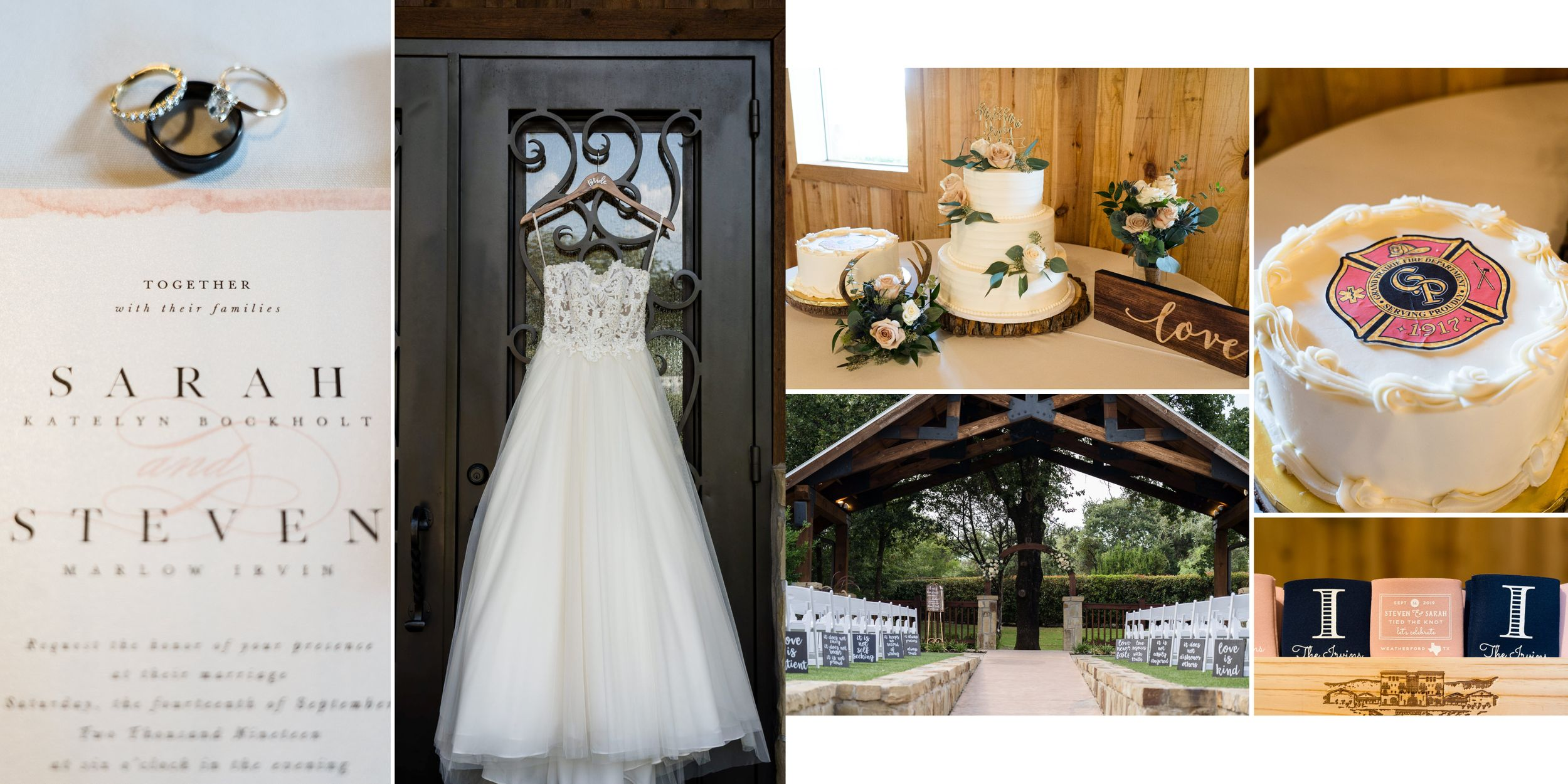 Wedding Album | Sarah & Steven | The Springs Events Weatherford