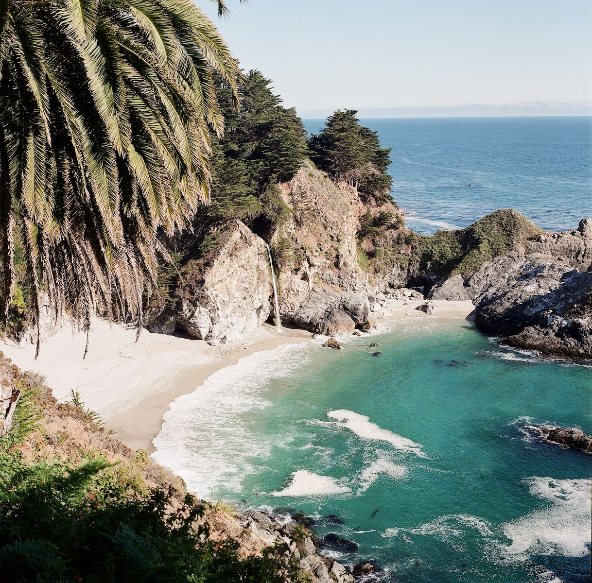 Aaron Snow Photography California Wedding Photographer McWay Falls Big Sur Hasselblad Camera