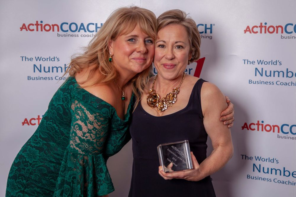 Winners at Action Coach Awards in Portsmouth