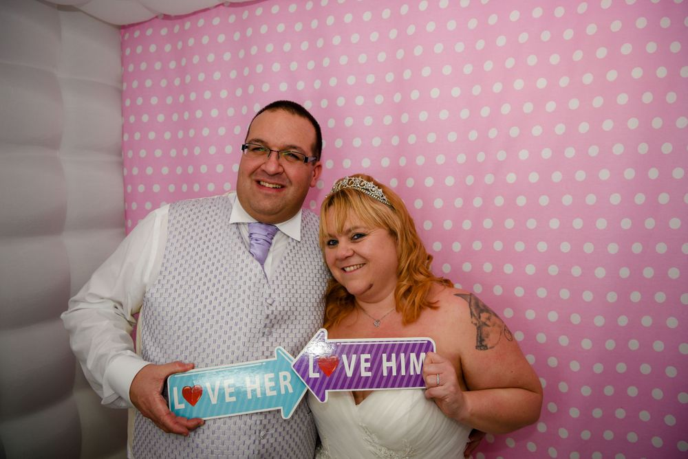 Dave & Tammy - Photo Booth