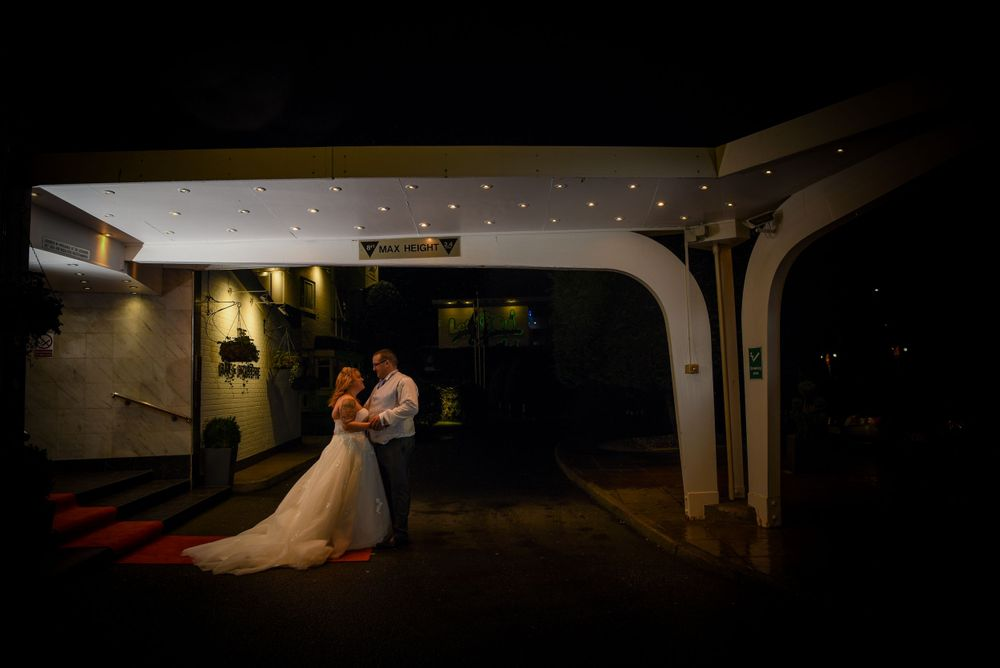 Dave & Tammy - Outside The Barnstaple Hotel