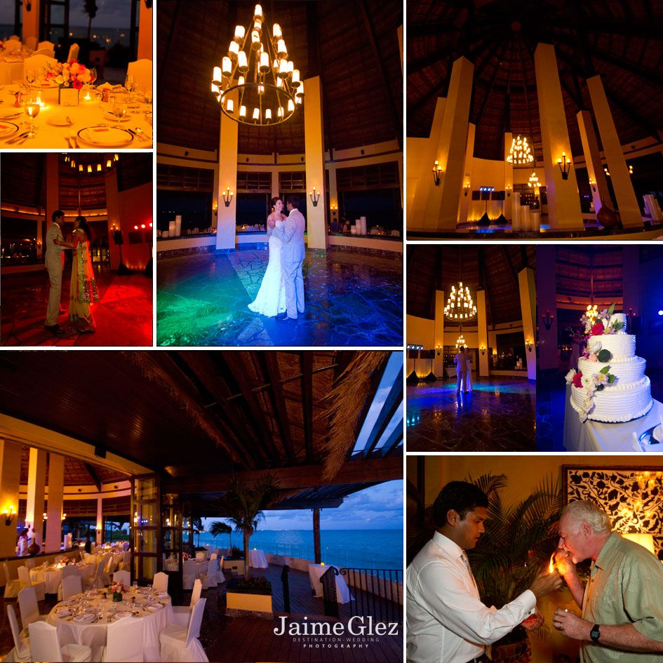 wedding reception at the Fairmont Mayakoba