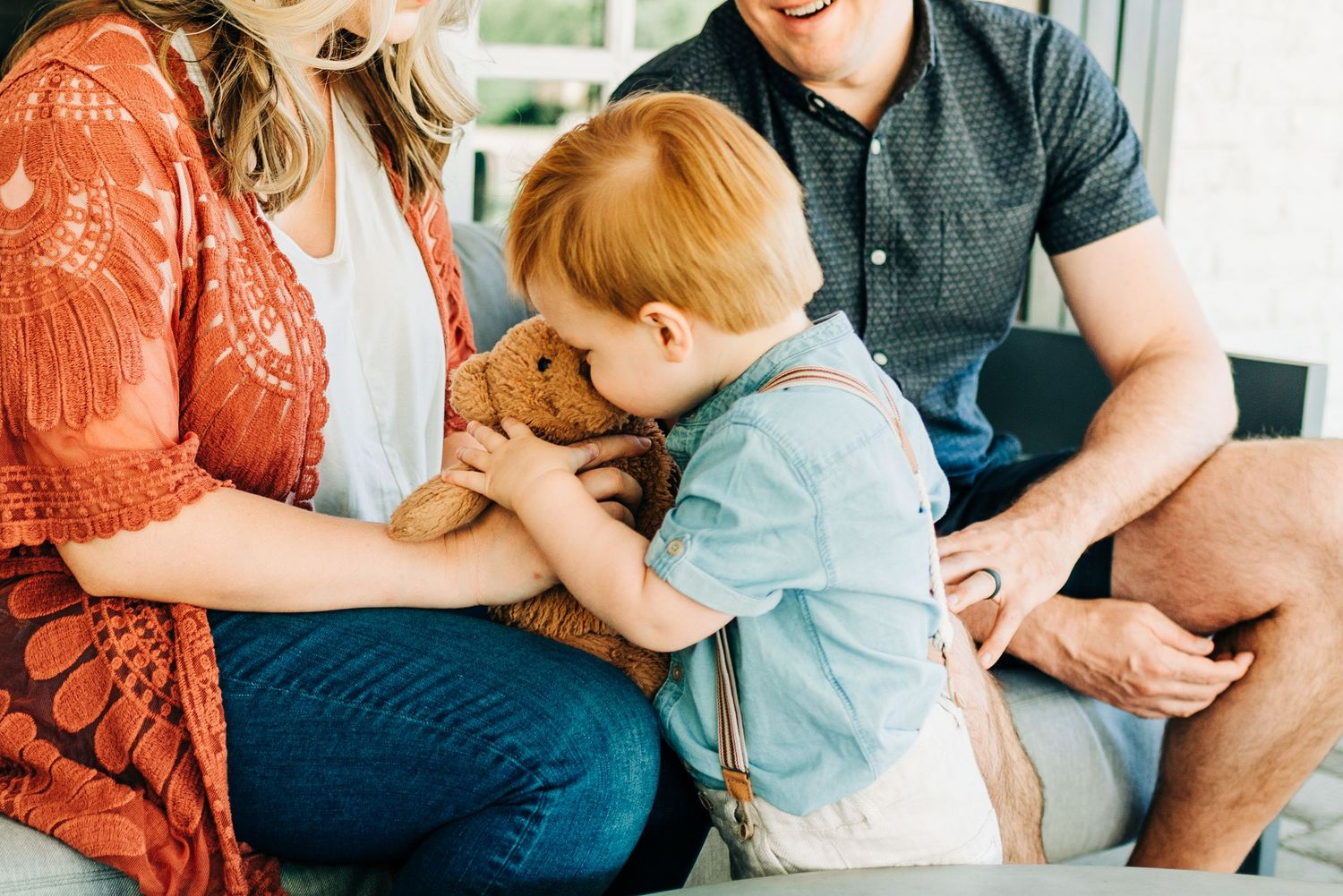 front porch lifestyle family session done by Kourtney Marie Photography