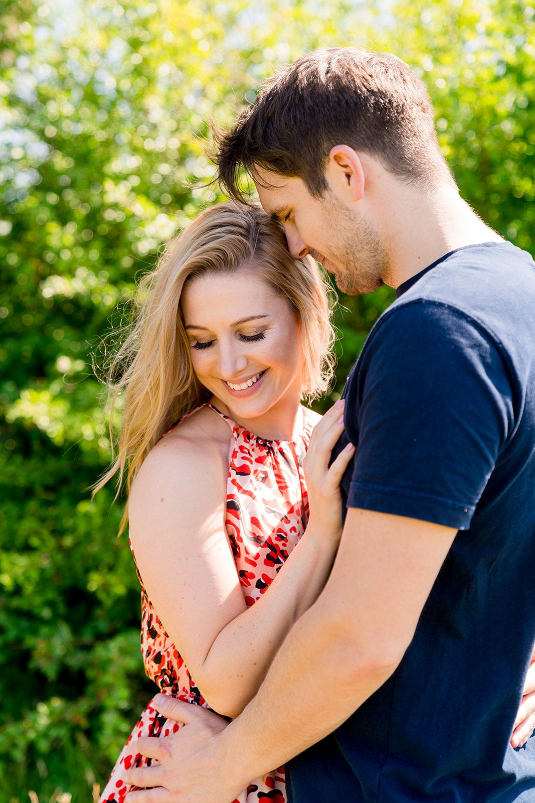 engagement photographs new forest summer time