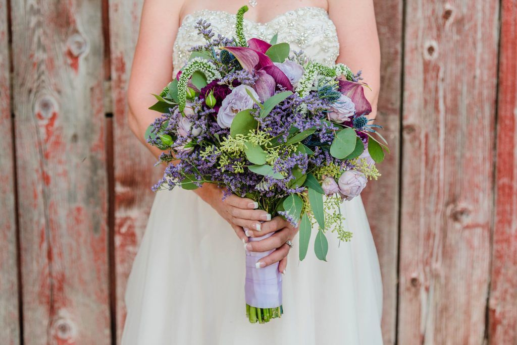 Central Valley visalia California barn wedding bouquet