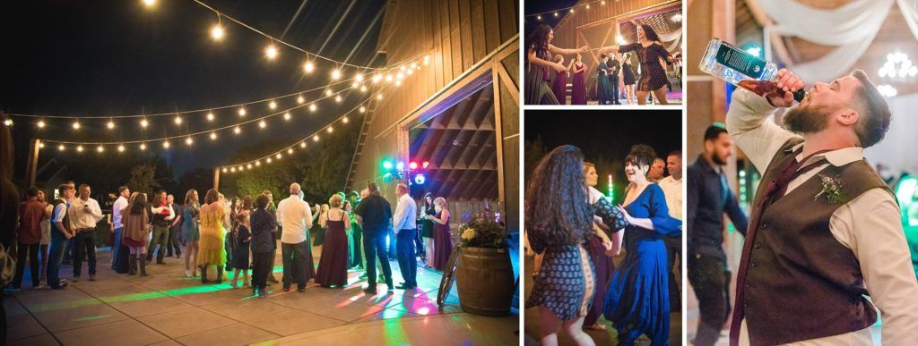 Central Valley visalia California barn wedding reception
