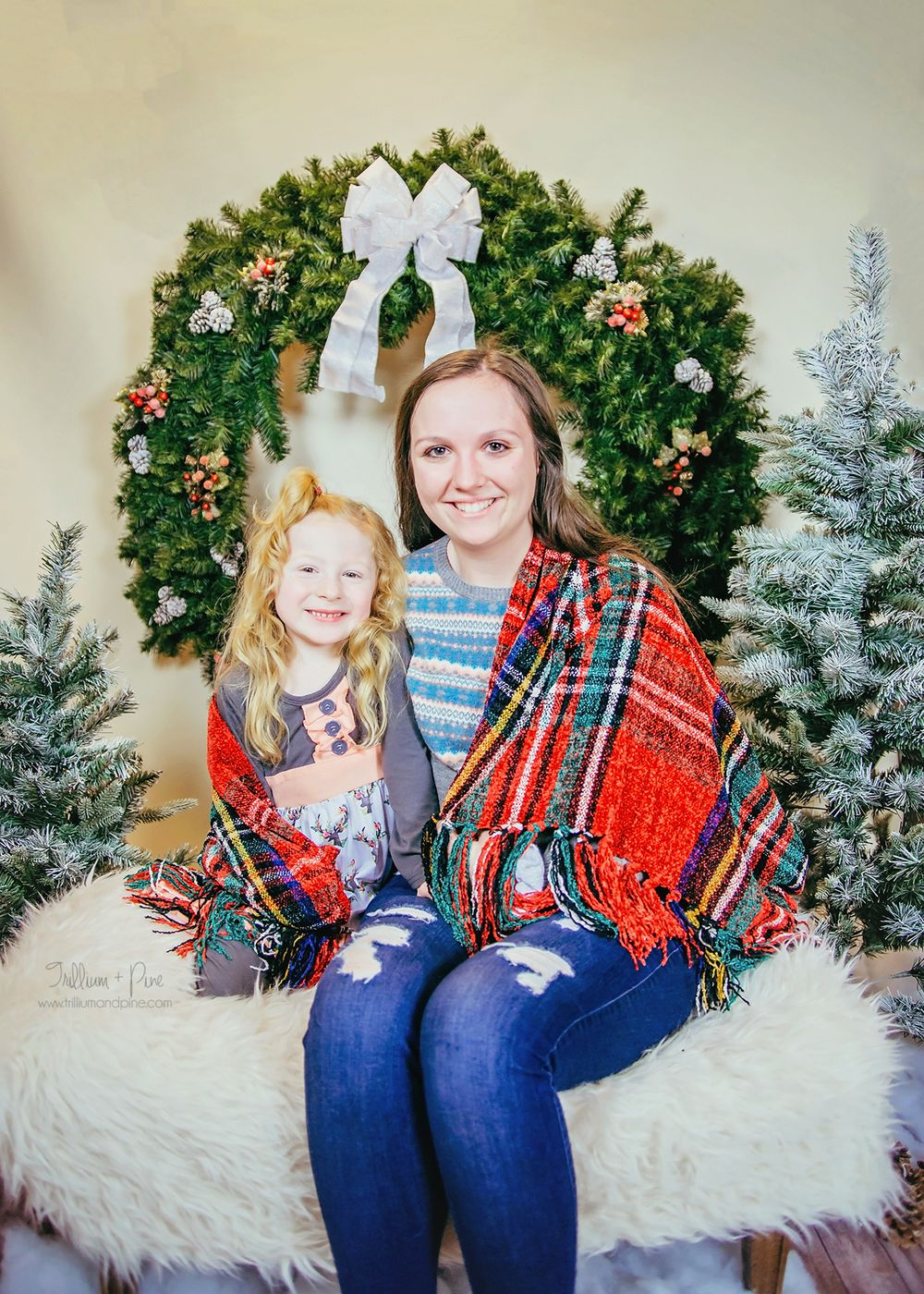 Christmas pictures near Cheboygan Michigan