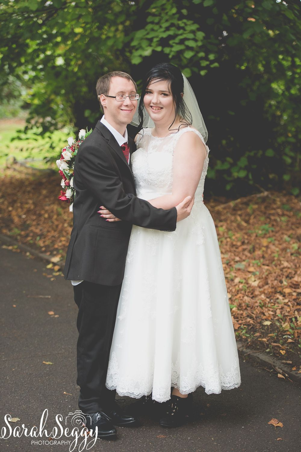 Autumn photography, Wedding photographer,  Bride and Groom