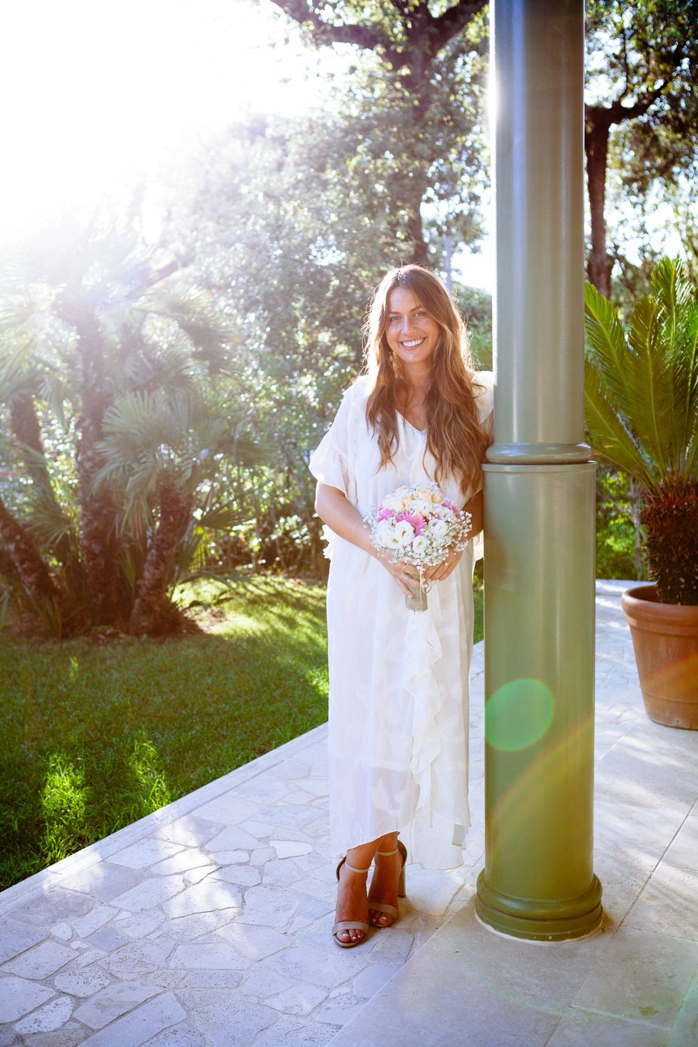 beautiful relaxed wedding on the Tuscan coast