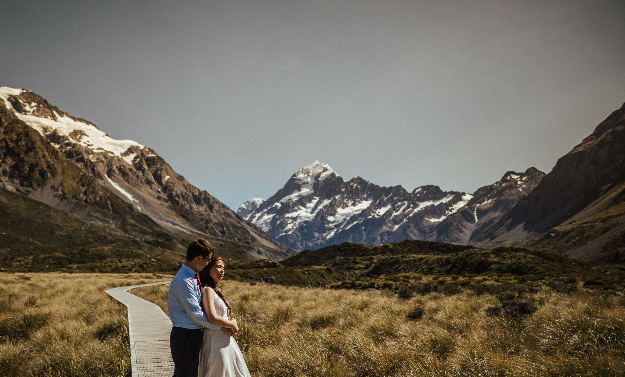 Hooker Valley Engagement