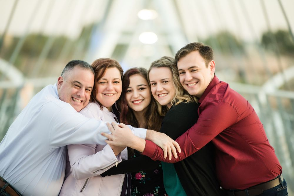 Tempe Town Lake Bridge Family Photography