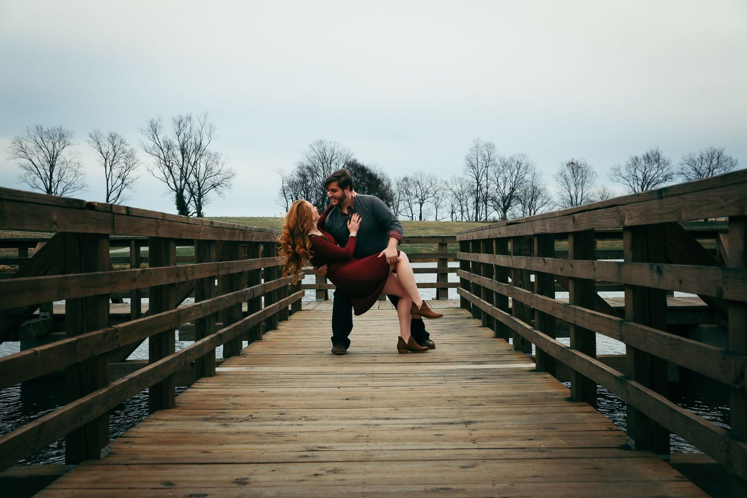 Moody wedding photography Lexington central KY Kentucky unique engagement session couple