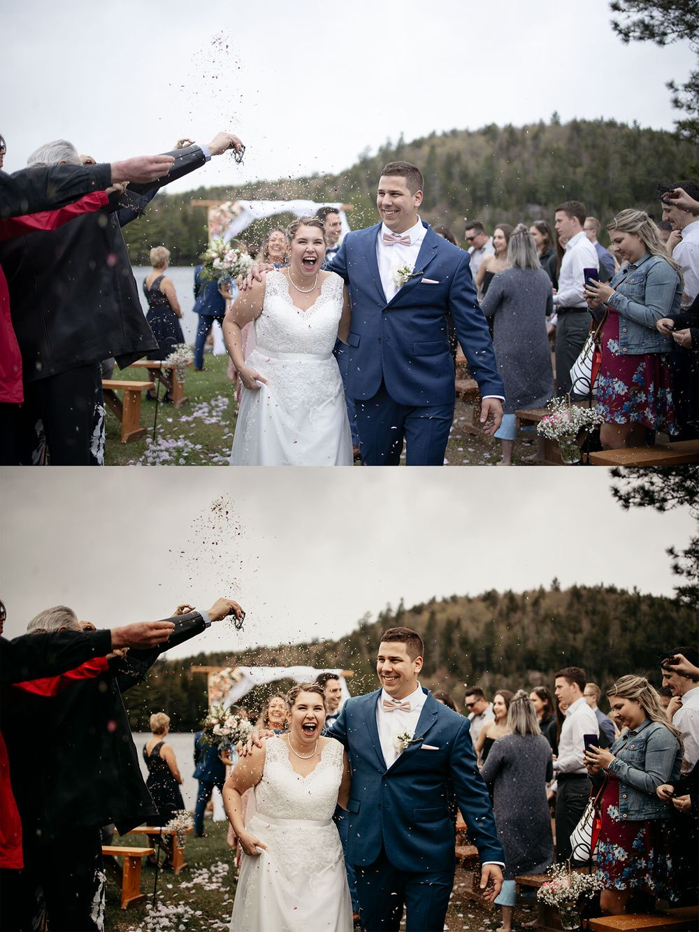 wedding lightroom preset film look modern