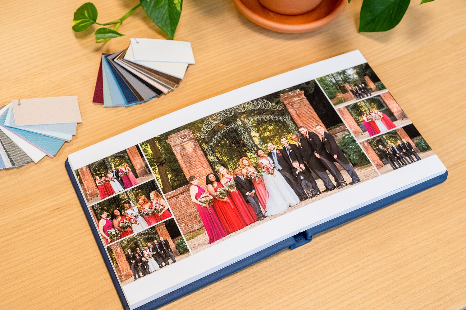hand made luxury wedding album