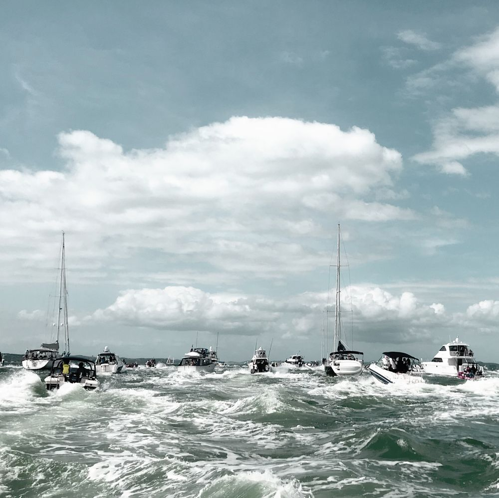 Boating-auckland-choppy