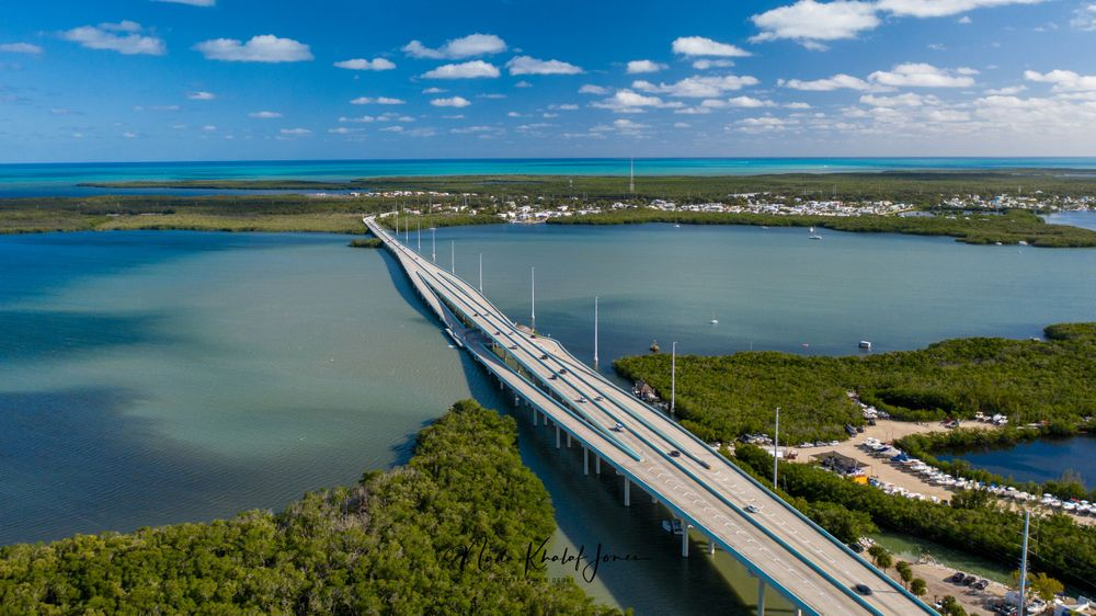 Florida Keys aerial photography
