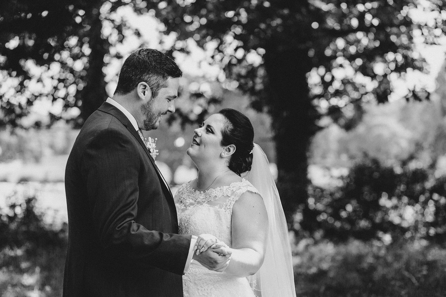 Bartley Lodge summer wedding