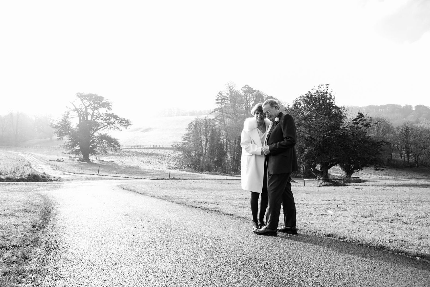 older couple wedding photography in Devon