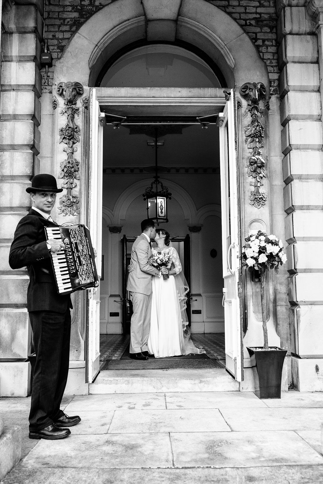 creative wedding photographer at Reed Hall Devon