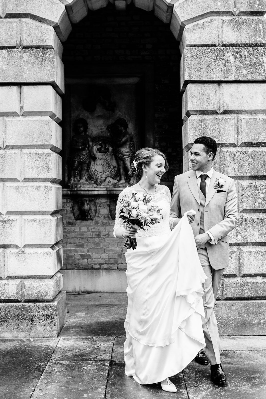 classic wedding photography at Reed Hall Exeter Devon