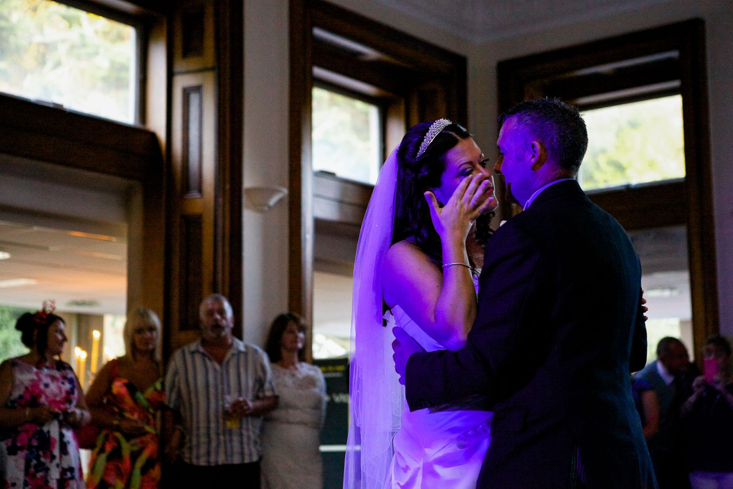 first dance at Reed Hall Exeter wedding