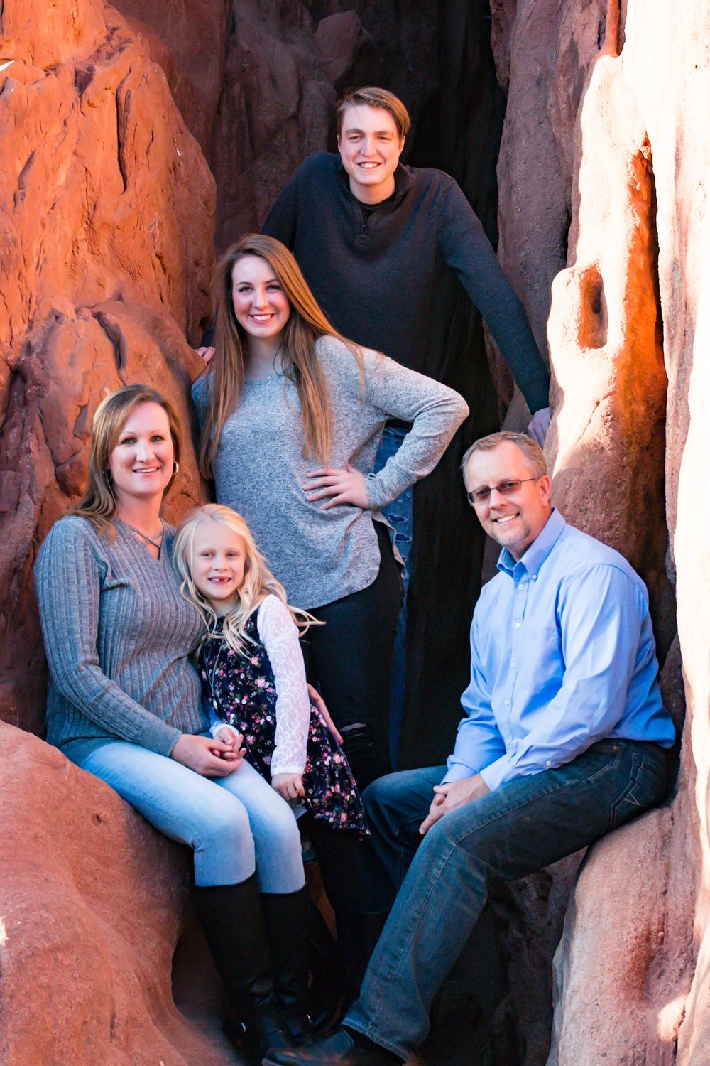 Garden of the Gods Family Session