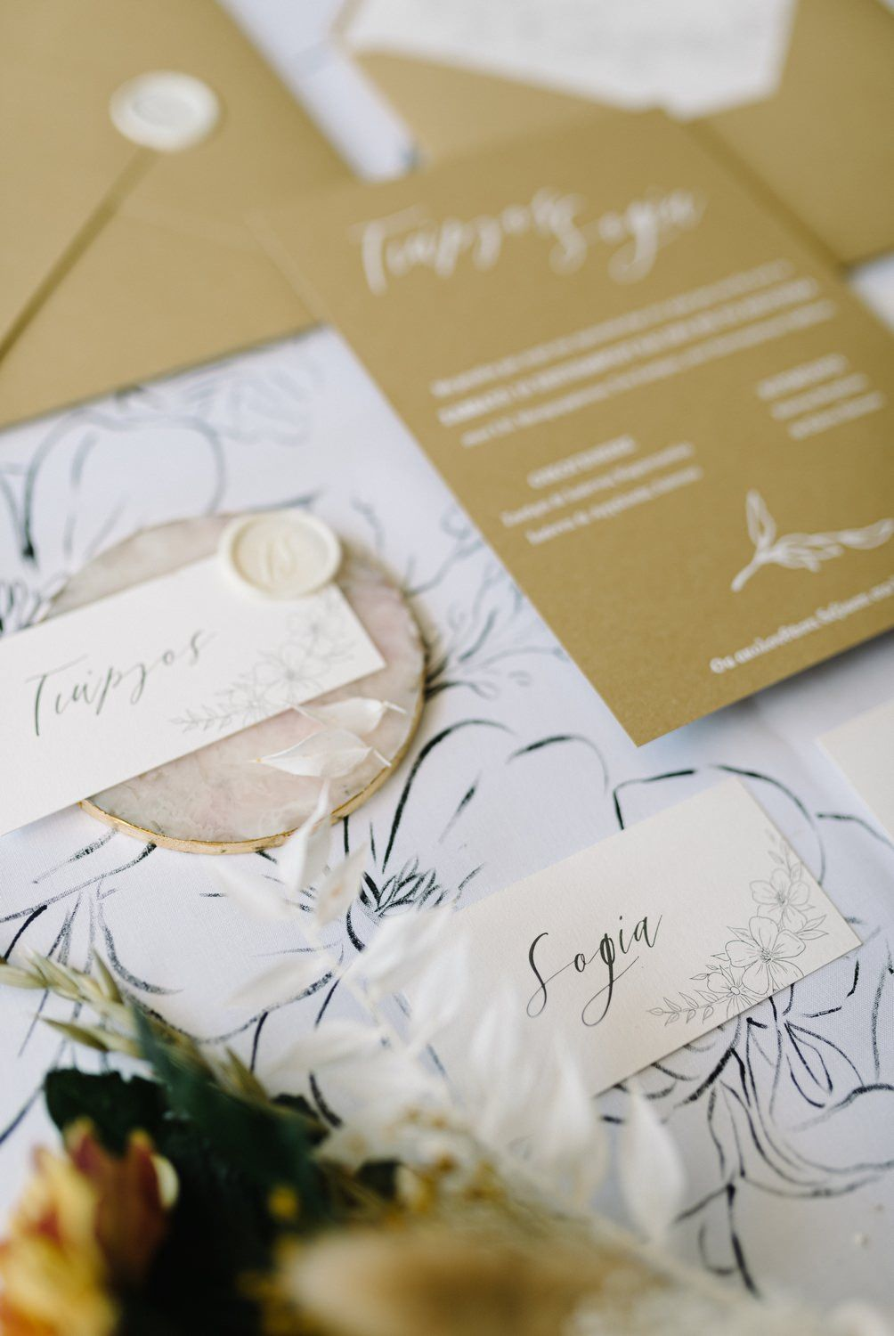 wedding stationery details