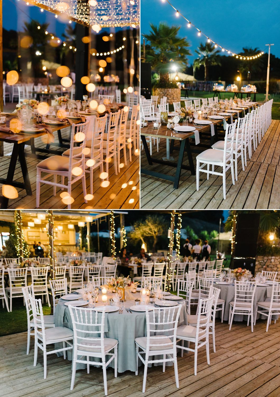 wedding reception in Mango Preveza