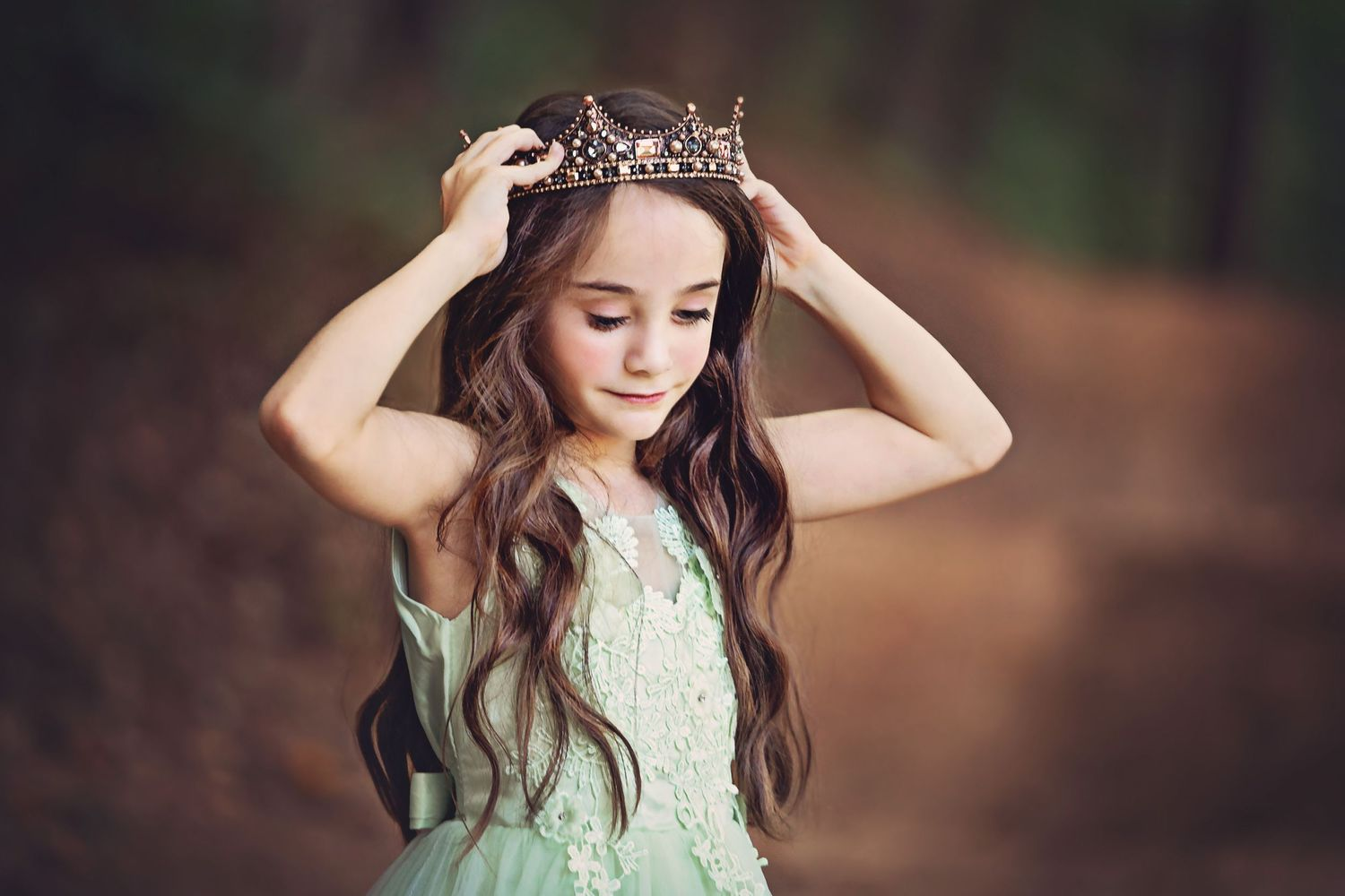 frog princess crown imagination photography mc