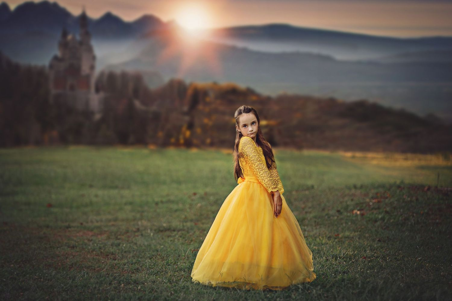 golden beauty castle imagination photography mc