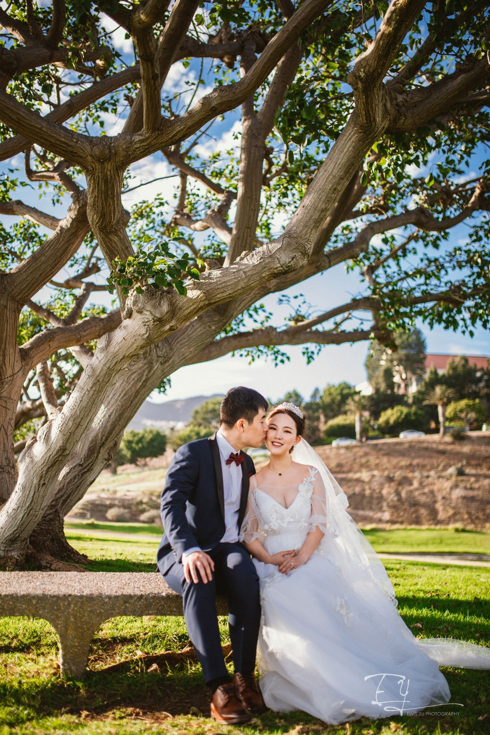 elvis yu photography california engagement wedding day destination wedding los angeles malibu mission inn riverside