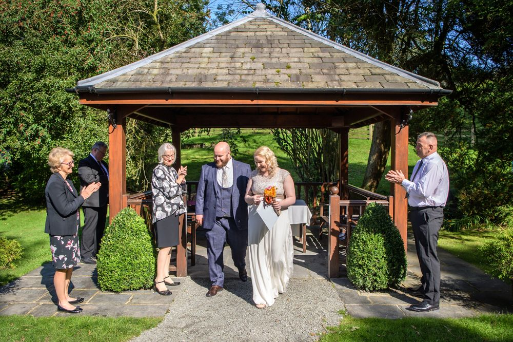 Elopement wedding at Briery Wood Hotel near Windermere
