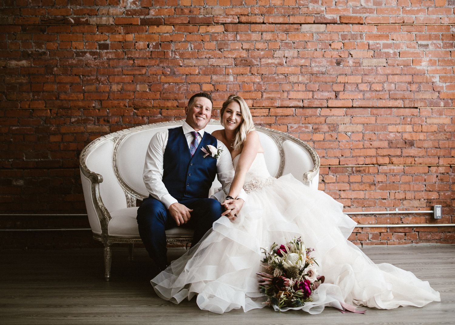 Calgary wedding photographer goes to Venue 308 for elopement