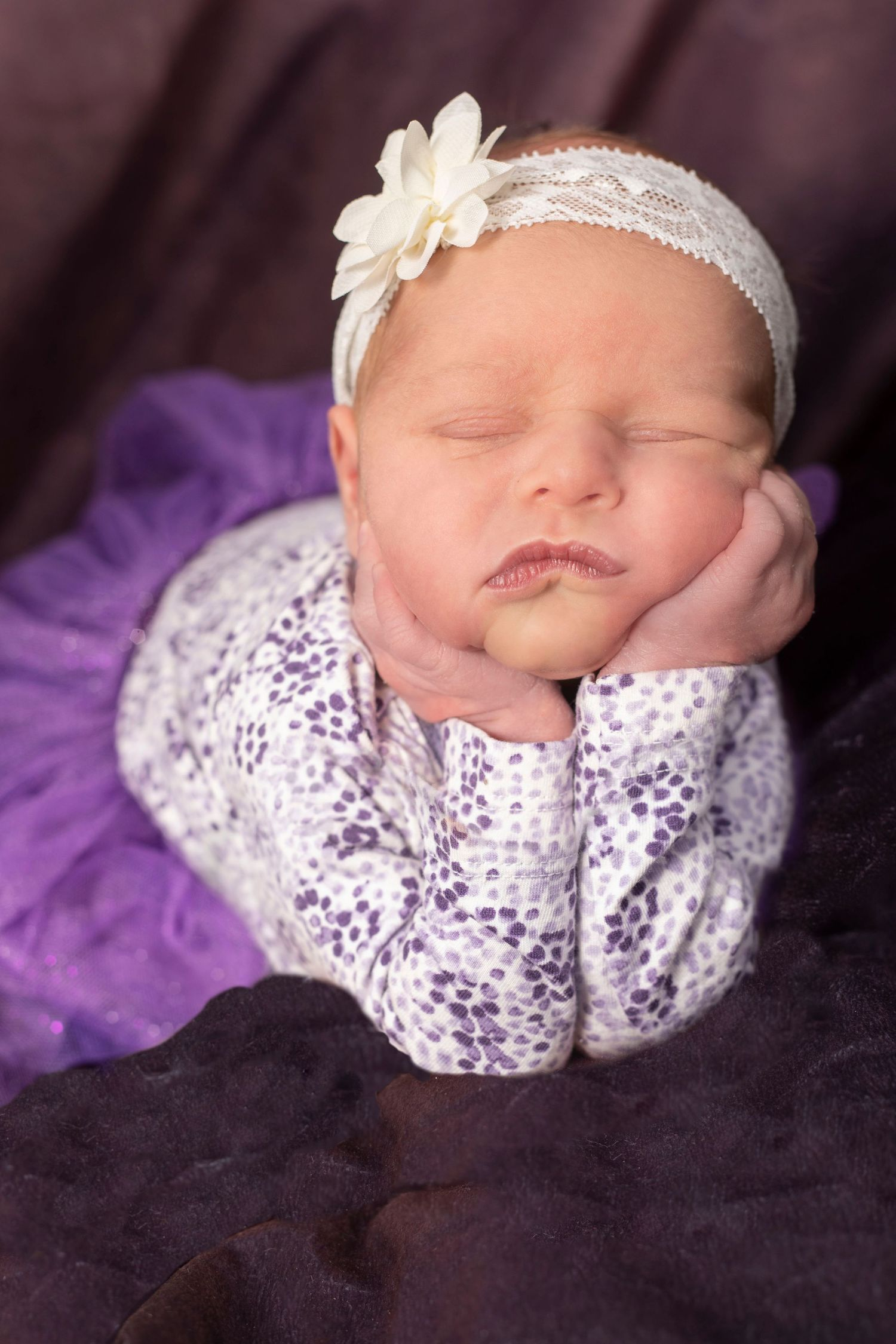 Jackie Phairow Photography newborn portrait