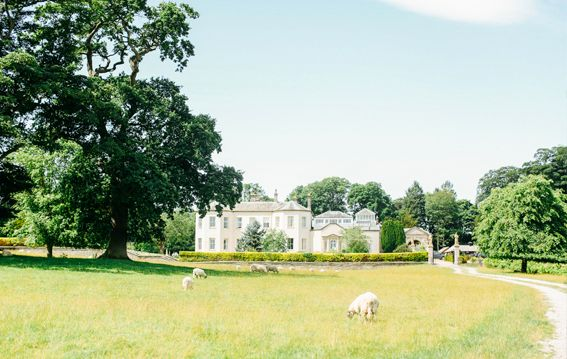 Lartington Hall County Durham is on Faye Amare's wedding venue bucket list