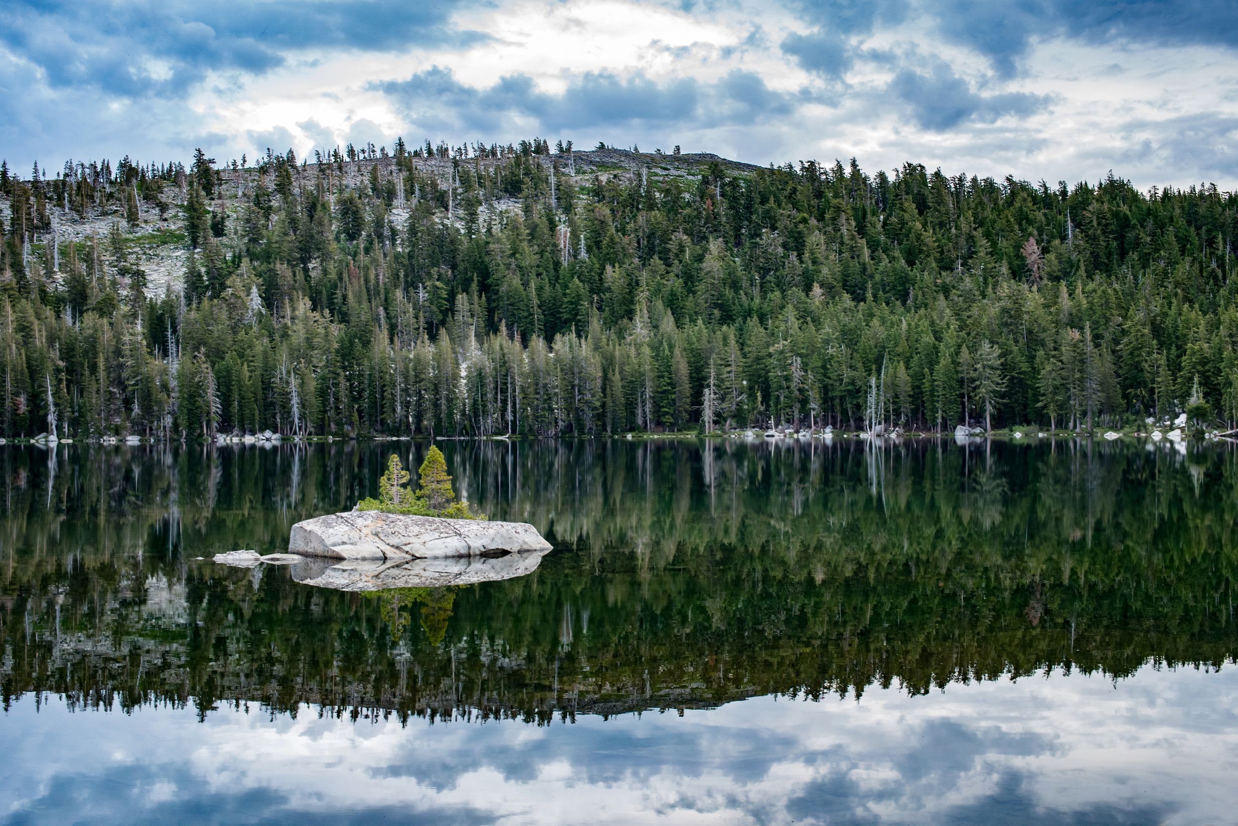 Lake of the Woods in Desolation Wilderness South Lake Tahoe by plymouth ma photographer Heidi Harting