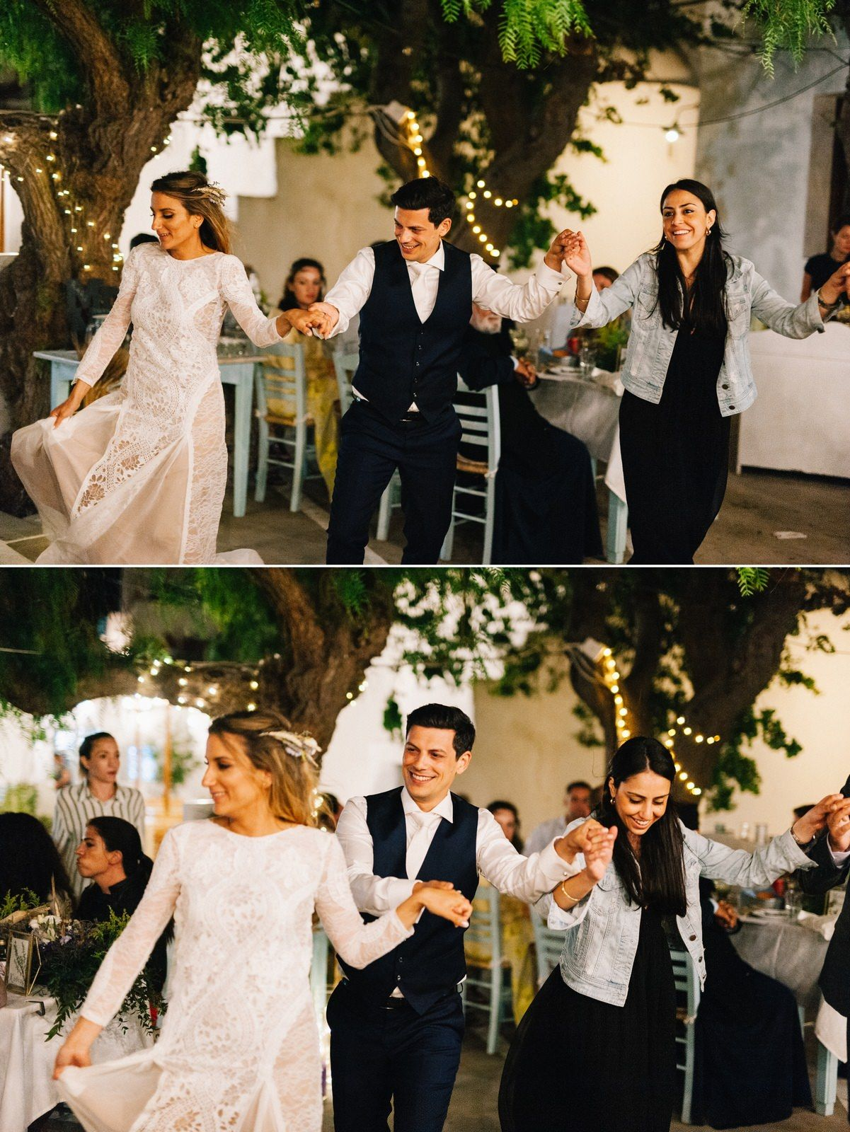 traditional greek dance at folegadros