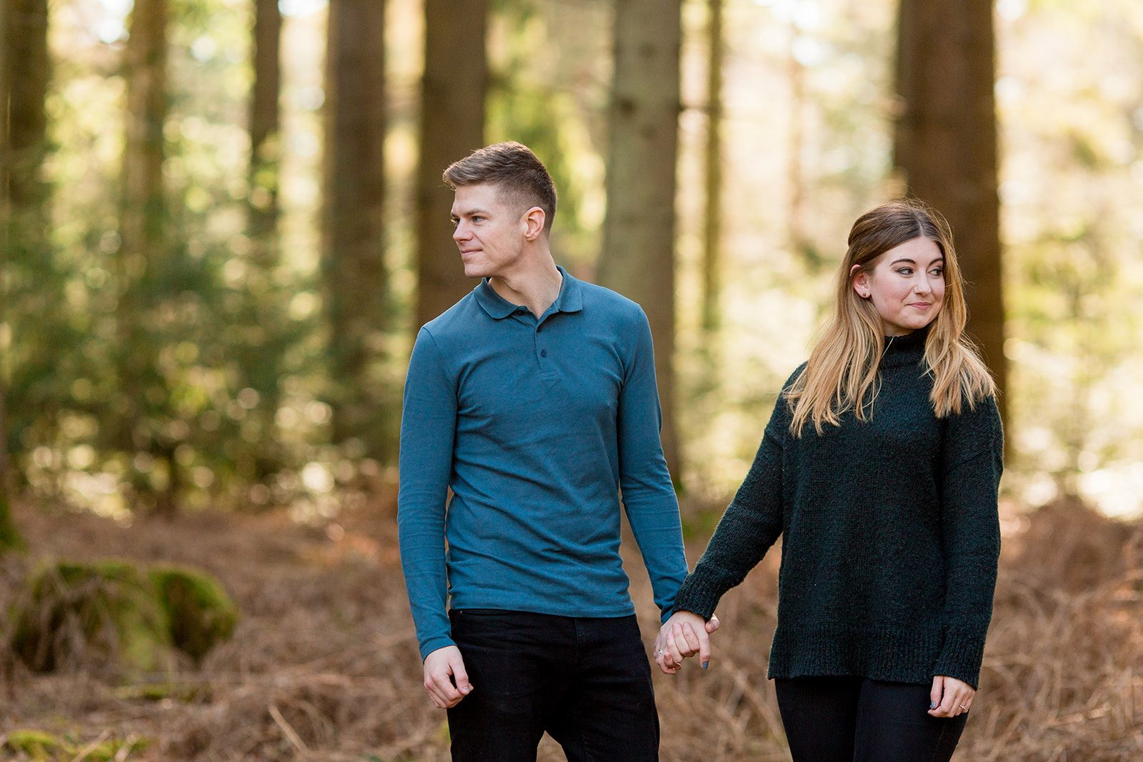candid engagement photography new forest