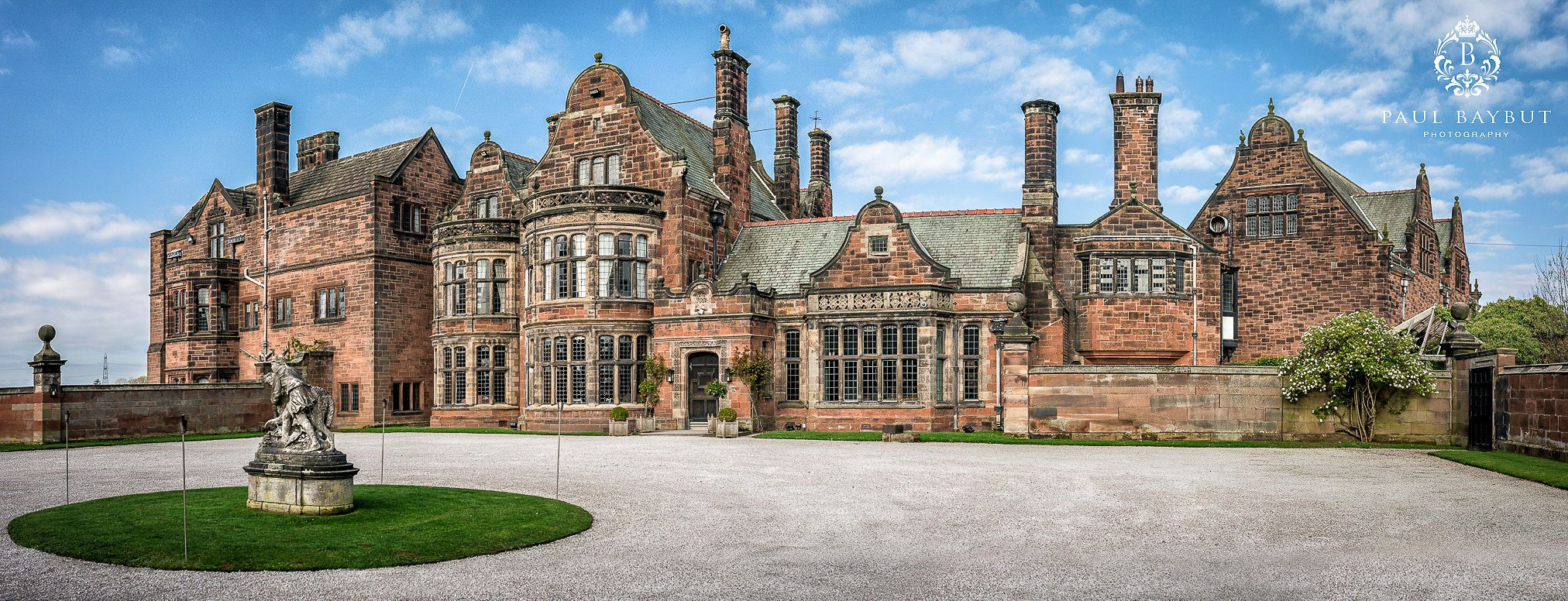 Thornton manor wedding venue exterior building view