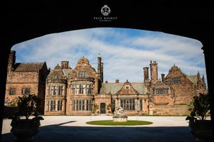 Thornton Manor wedding venue wedding photography of exterior building detail