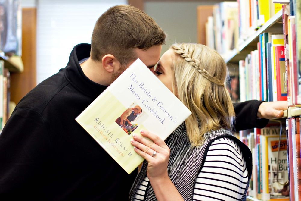 Engagement library, book lovers