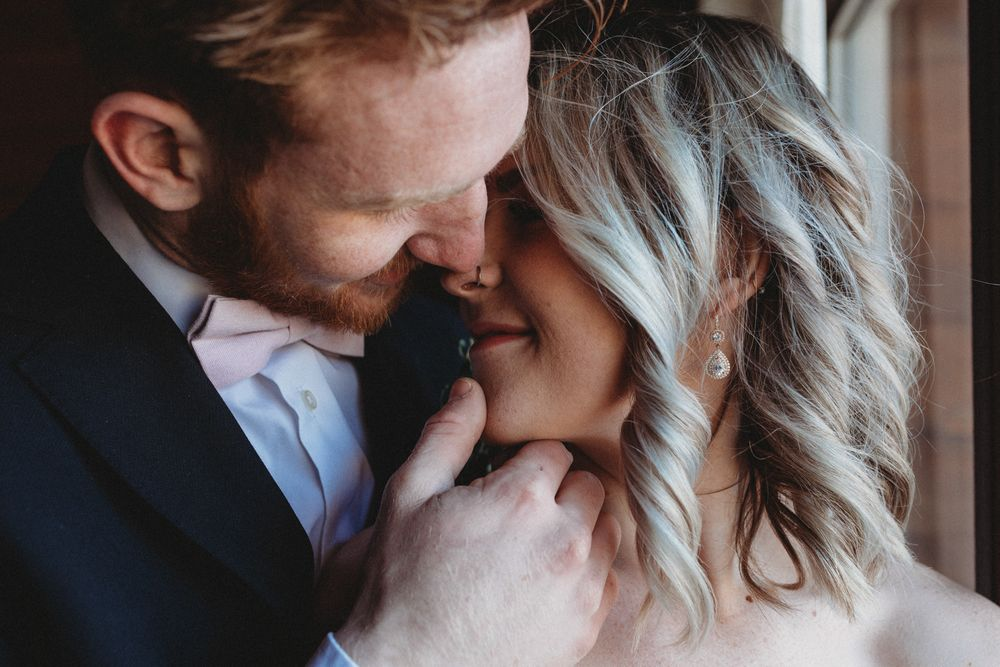 Kawartha Lakes Wedding Photographer Peterborough weddings romantic bride and groom portraits