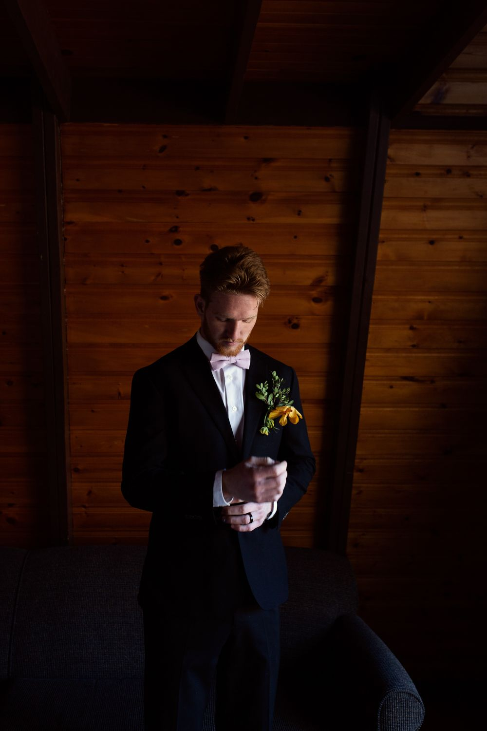 Kawartha Lakes Wedding Photographer near me Boho Wedding Groom